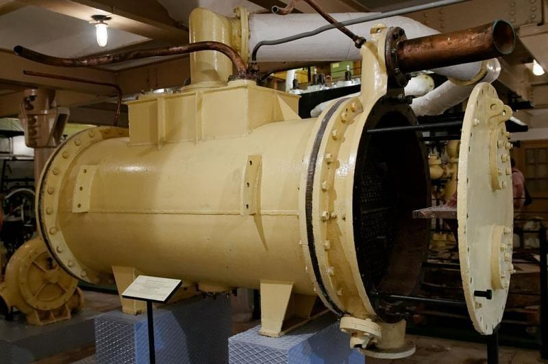 Condensador de turbina a vapor