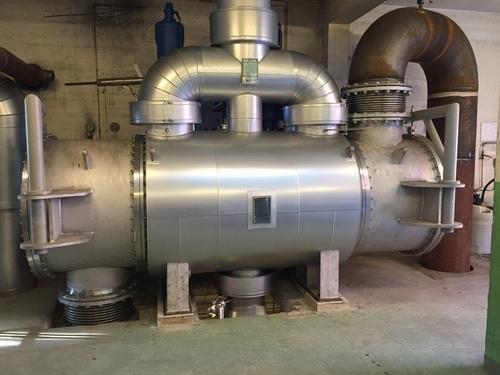 Condensador de vapor turbina