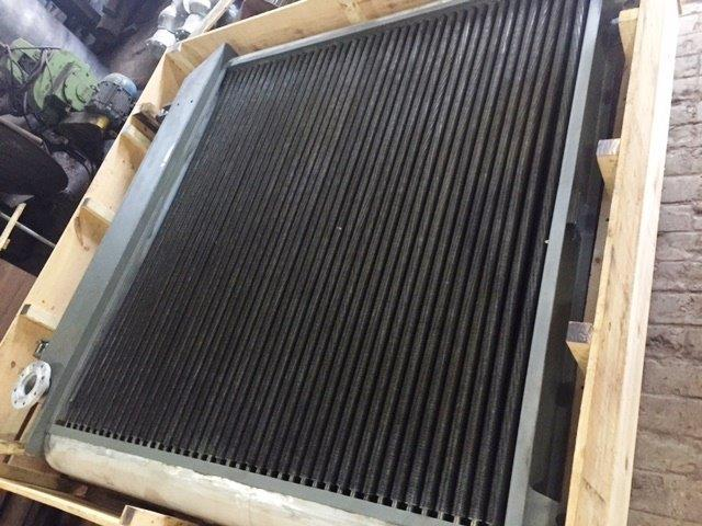 Radiador industrial água