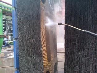 Limpeza em trocadores de calor